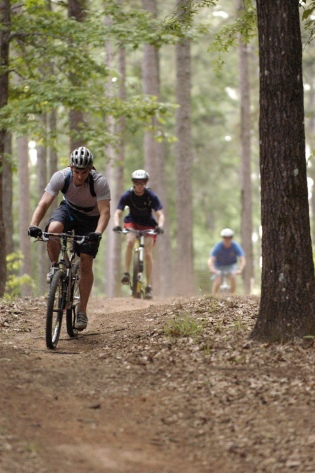 Mountain Bike Trails at Lincoln Parish Park - PHOTO-Louisiana Tech University